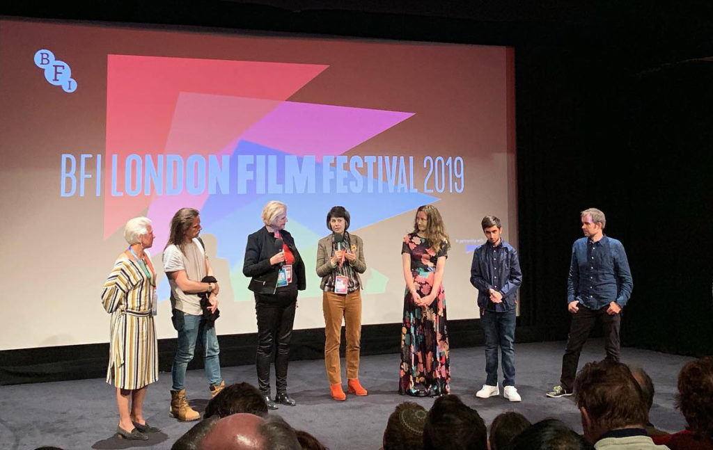 The Deathless Woman cast and crew at London Film Festival